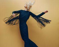 Aymeline Valade by Thomas Whiteside for Harper's Bazaar Spain November 2015 | The Fashionography