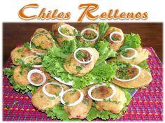 Receta Chiles Rellenos Guatemala