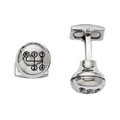 Shop for Chisel Stainless Steel Polished Stick Shift Design Enameled Cuff Links. Get free delivery On EVERYTHING* Overstock - Your Online Jewelry Destination! Steel Gifts, Groom Accessories, Stainless Steel Polish, Steel Metal, Black Enamel, Jewelry Stores, Diamond Engagement Rings, Diamond Jewelry, Cufflinks