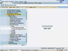 SAP Profit Center Accounting Configuration - Create Account  Groups