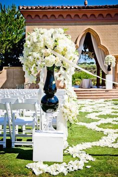wedding ceremony idea; photo: True Photography