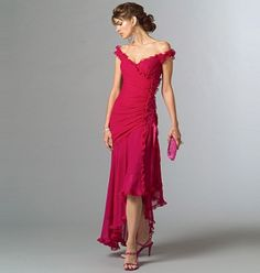 Patron de robe - Vogue 2880