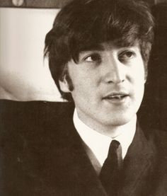 Cute John Lennon!
