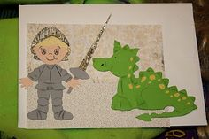 Knights and Dragons Cricut Cuts ... Everyday Paper Dolls and Paper Doll Dress Up Cartridges
