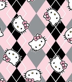 Licensed Cotton Fabric-Hello Kitty Preppy for girls pj's Hello Kitty Iphone Wallpaper, Hello Kitty Backgrounds, Sanrio Wallpaper, Iphone Background Wallpaper, Kawaii Wallpaper, Aesthetic Iphone Wallpaper, Iphone Backgrounds, Yazawa Ai, Hello Kitty Imagenes