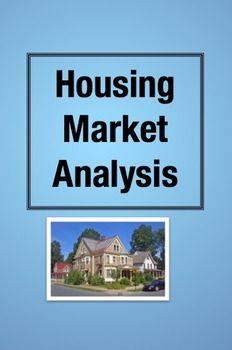 Find Me a Home! Housing Market Analysis Math Project (Grades 3-5)