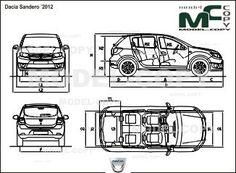 Пин от пользователя Model COPY на доске Dacia blueprints