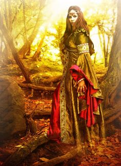 1000+ images about 4. Fantasy//Celtic Ladies on Pinterest ...