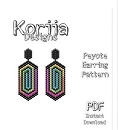bead embroidery patterns on fabric Peyote Stitch Patterns, Bead Crochet Patterns, Bead Embroidery Patterns, Beading Patterns Free, Seed Bead Patterns, Beaded Bracelet Patterns, Weaving Patterns, Art Patterns, Color Patterns