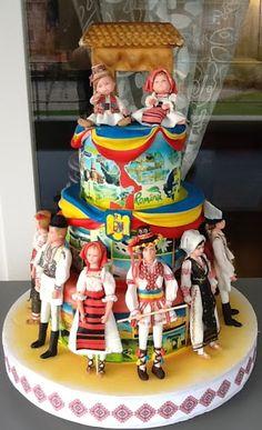 viorica's cakes: Hora Romaniei