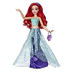 Shop for Disney Princess Style Series, Ariel Doll in Contemporary Style with Purse and Shoes. Get free delivery On EVERYTHING* Overstock - Your Online Toys & Hobbies Store! Mulan Doll, Ariel Doll, Disney Princess Dolls, Disney Dolls, Princess Toys, Disney Princess Fashion, Disney Princess Dresses, Disney Dresses, Mermaid Silhouette