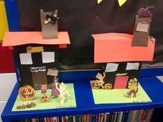 5th grade haunted houses out of cereal boxes