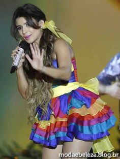 Paula Fernandes Paula Fernandez, Girly Outfits, After Dark, Summer Collection, Beautiful Women, Celebrities, Sexy, Womens Fashion, Pink