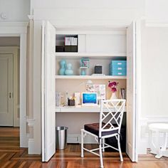 Another great closet/office.