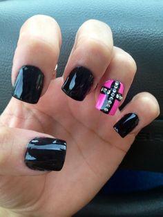 cross nail designs ZZ1nVMdy   Nails   Pinterest   Cross nail designs ...