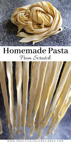 Homemade pasta is absolutely incredible and infinitely better than store bought dried pasta. Learn how to make pasta from scratch and craft exceptional homemade meals for your family. #homemade #pasta #making #diy #recipe