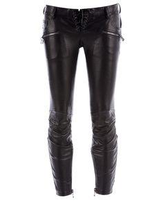 Balmain Leather pants www.balmainsale.us
