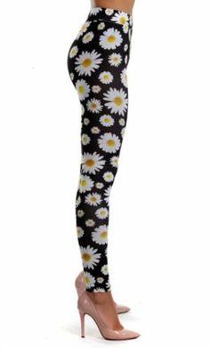 Colanti Daisy cu Imprimeu Floral Negri Get The Look, Capri Pants, Pajama Pants, Pajamas, Floral, Fashion, Pjs, Moda, Capri Trousers