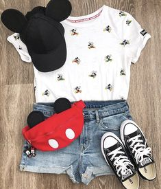 Cute Disney Outfits, Disney World Outfits, Disney Themed Outfits, Disneyland Outfits, Cute Casual Outfits, Disney Clothes, Teen Fashion Outfits, Outfits For Teens, Summer Outfits