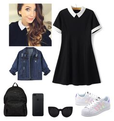 """""""Cover 2"""" by huldinhared on Polyvore featuring moda, WithChic, adidas Originals e Hogan"""