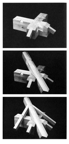 En Detalle: Especial / Los ensambles de madera en la arquitectura japonesa tradicional Japanese Joinery, Japanese Woodworking, Woodworking Joints, Woodworking Techniques, Woodworking Projects, Timber Buildings, Timber Structure, Wood Joints, Woodworking Inspiration