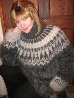 Perfection in Icelandic Sweater. Icelandic Sweaters, Pullover, Wool, Crochet, Fashion, Winter Fashion, Breien, Moda, Fashion Styles