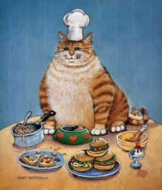 Gary Patterson Cats | №115229 Gary Patterson - Fat Cat De - Patterson, Gary ...
