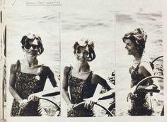 Jackie in Italy in 1962