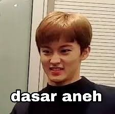 Funny Kpop Memes, Cute Memes, Meme Stickers, Nct Life, Mark Nct, Cartoon Jokes, All The Things Meme, Na Jaemin, Meme Faces