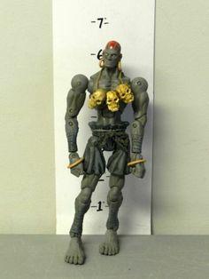 ANIM 1501  SOTA Street Fighter Revolution Dhalsim Action Figure