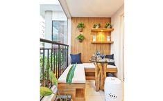 A varanda é um dos ambientes da casa mais disputados atualmente. Confira um top 10 com as varadas mais bonitas do Pinterest e inspire-se na hora de decorar.