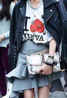 Street Style at Fashion Week Spring 2014
