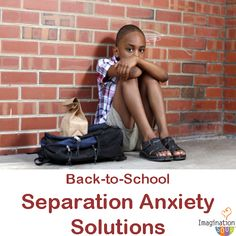 How to ease separation anxiety as kids head back to school.