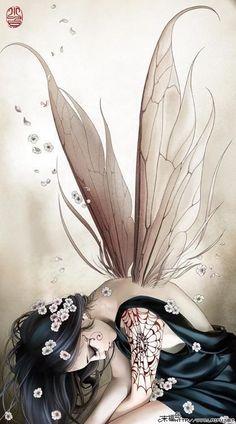 Faery fairy fantasy A sad WishKeeper. Why so glum, chum? Elfen Fantasy, 3d Fantasy, Fantasy Kunst, Fantasy World, Fairy Dust, Fairy Land, Fairy Tales, Forest Fairy, Magical Creatures