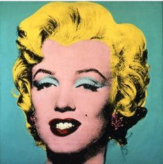Turquoise Marilyn - Andy Warhol - 1964