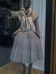Houndstooth on houndstooth