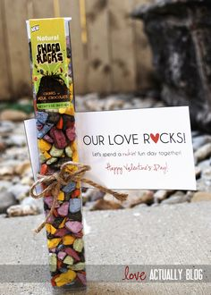 """Our Love Rocks"" Date -- rock climbing, hard rock cafe, hot stone massage, rocky road dessert, and rock playlist"