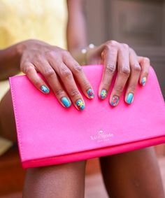 When the summer comes, we like to change up our nail designs to fit the bright summer mood. So here are five eye-catching summer nail designs to copy. Watermelon Nails, Sunflower Nails, Nail Forms, Unicorn Nails, Rainbow Nails, Holographic Nails, Artificial Nails, Nail Decorations, Cute Nail Designs