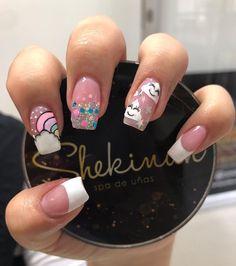 Mani Pedi, Nail Manicure, Pretty Nail Art, Cute Nails, Nail Art Designs, Mayo, Tattoos, Beauty, Instagram