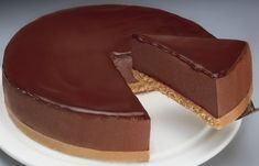 Greek Sweets, Greek Desserts, Party Desserts, Summer Desserts, No Bake Desserts, Delicious Desserts, Greek Recipes, Easy Chocolate Pie, Chocolate Sweets