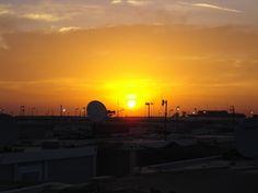 Southern Iraq sunset