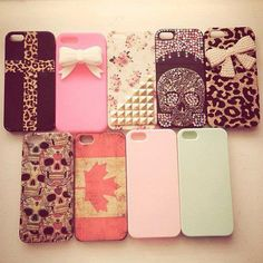 cool iphone cases... I like the ones with the bows