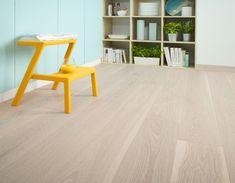 Parchet Stejar Bej Triplu Stratificat Barlinek Pudding Grande 14mm   Pret Floors Direct, Engineered Wood Floors, Bookcase, Pudding, Flooring, Rustic, Modern, Design, Home Decor