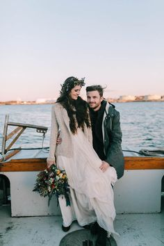 Nautical fall wedding inspiration   Emily Delamater Photography and Leah Fisher Photography