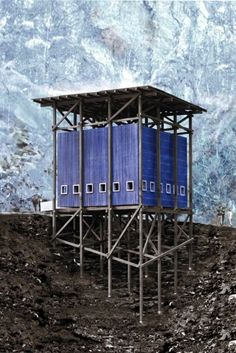 Mining museum and cafe   Peter Zumthor   via