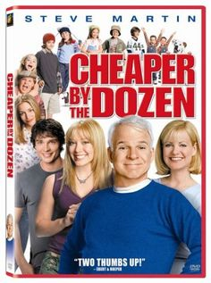 Cheaper by the Dozen FOX Home Entertainment http://www.amazon.com/dp/B0001EFTH4/ref=cm_sw_r_pi_dp_0RE.vb1HNKRY5