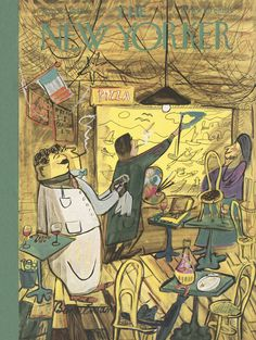 The New Yorker - Saturday, April 1, 1950 - Issue # 1311 - Vol. 26 - N° 6 - Cover by : Ludwig Bemelmans