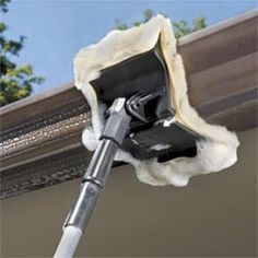 1000 Images About Cleaning Gutters On Pinterest Gutter