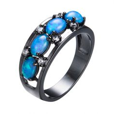 Black Friday Deals Oval Blue Fire Op... http://www.jeremiahjewelry.online/products/oval-blue-fire-opal-rings-for-women-fashion-jewelry-christmas-gift-vintage-black-gold-filled-cz-diamond-engagement-ring-rb1115?utm_campaign=social_autopilot&utm_source=pin&utm_medium=pin @JeremiahJewelry.Online