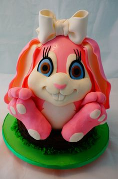 - Two cakes in one - Bunny Girl.  I saw this cake had been done by Sweet Disposition Cake and I loved it - just have to try it.